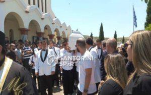 Σε κλίμα οδύνης η κηδεία του Παναγιώτη Σκαφτούρου (+pics)