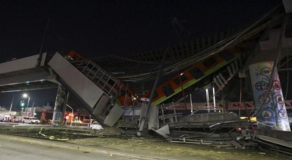 Μεξικό: 25 νεκροί – Κατέρρευσε γέφυρα του Μετρό πάνω σε δρόμο